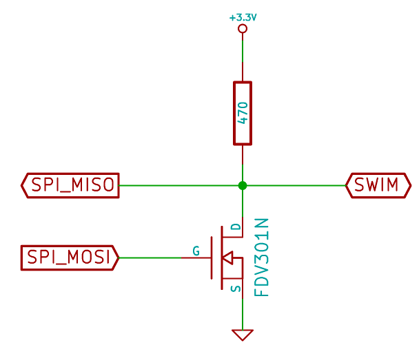tiny SPI-based STM8 programmer | The cuckoo's nest